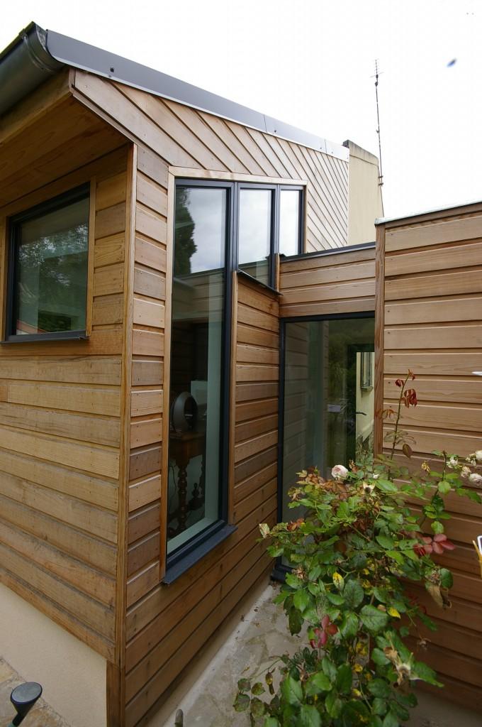 Extension bois - 2011 - Bures sur Yvette (91440)